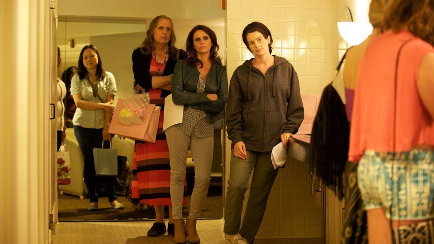 Jeffrey Tambor, Amy Landecker y Gaby Hoffman en 'Transparent'