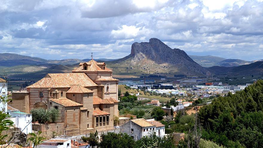 El 'indio' que vigila Andalucía. / AYUNTAMIENTO DE ANTEQUERA