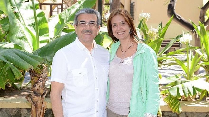 Román Rodríguez y Ana María Pérez.