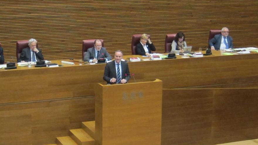 El debate de la candidatura del PP se cuela en la sesión de control a Fabra que agradece a PSPV que dé por hecho la suya