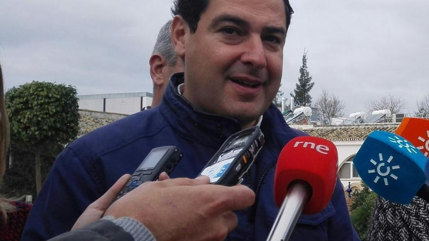 Moreno llevará este lunes a la Junta Directiva del PP-A su propuesta para la portavocía del grupo parlamentario