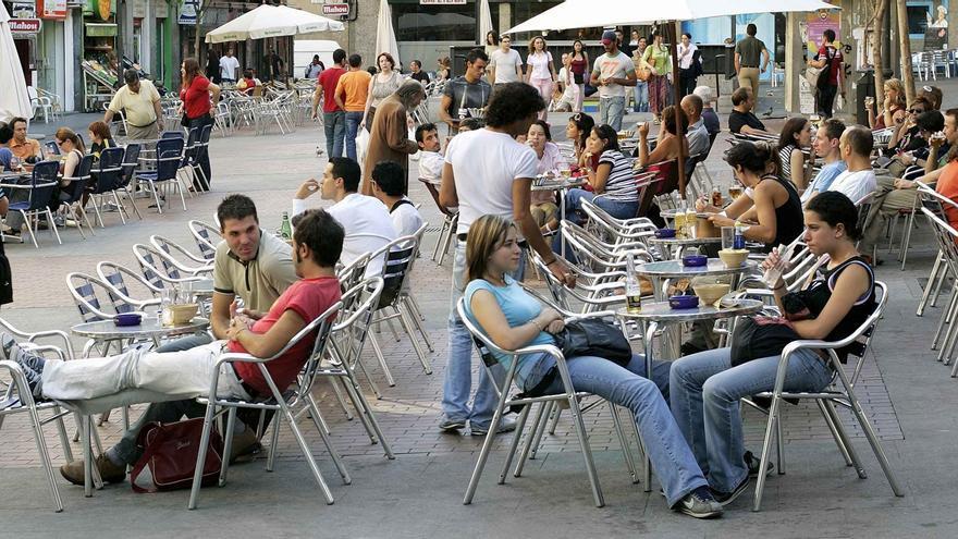 Terraza en una plaza del centro | AYUNTAMIENTO DE MADRID