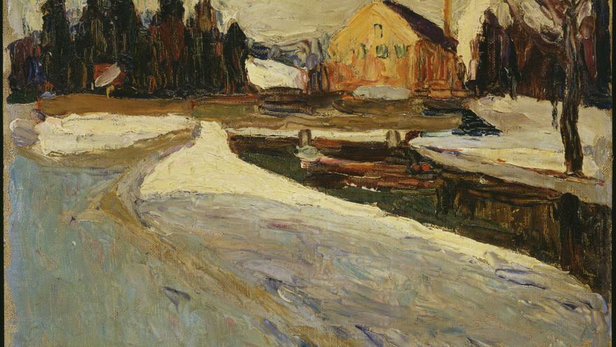 Schwabing, Wintersonne | Kandinsky