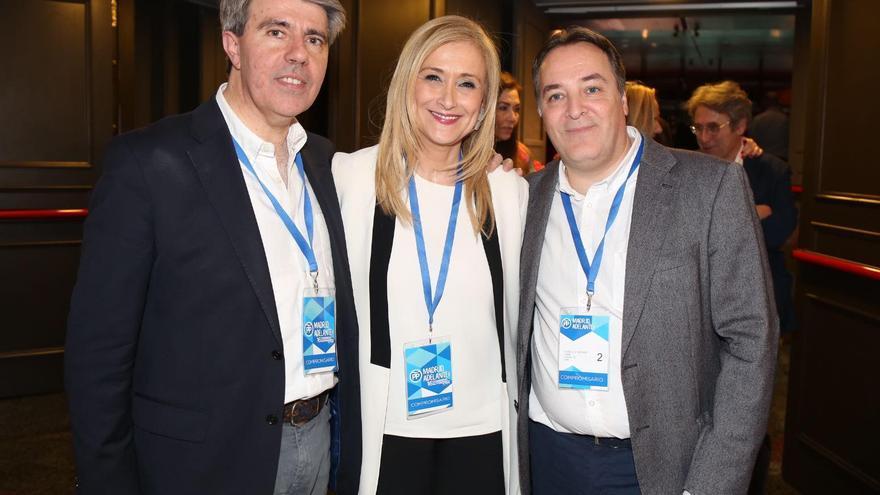 Ángel Garrido, Cristina Cifuentes y Jaime González Taboada