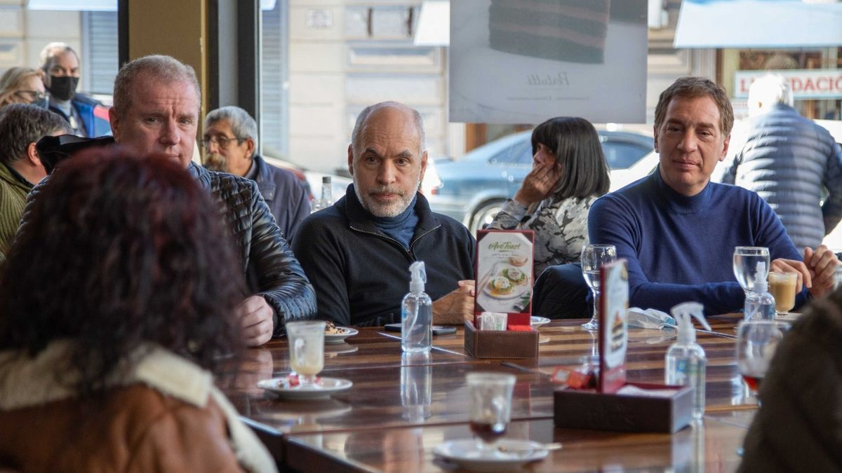 Larreta, en apoyo de Santilli y Milman en Avellaneda
