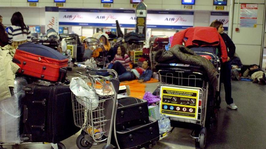 Las infracciones no tramitadas de Aena salpican la quiebra de Air Madrid