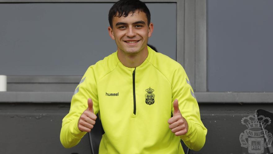 Pedri, jugador de la UD Las Palmas.