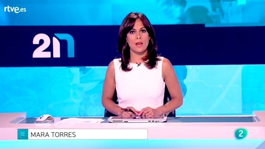 La 2 Noticias despedida Mara Torres 00:40