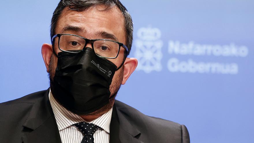 Javier Remírez, vicepresidente y consejero de Presidencia del Gobierno de Navarra