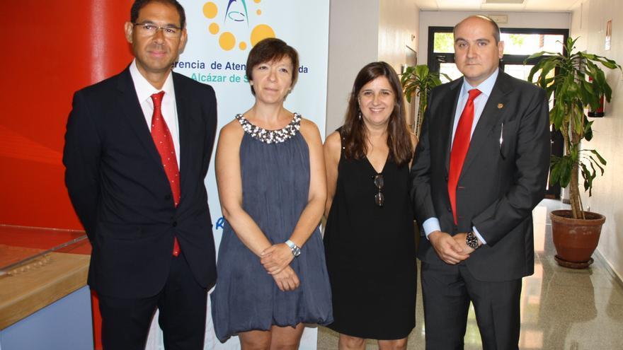 Toma de posesión del nuevo gerente del Área Integrada de Alcázar de San Juan / Foto: JCCM