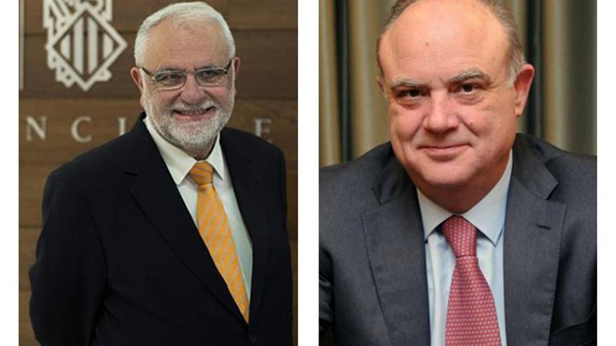 Juan Cotino y José María Mas Millet