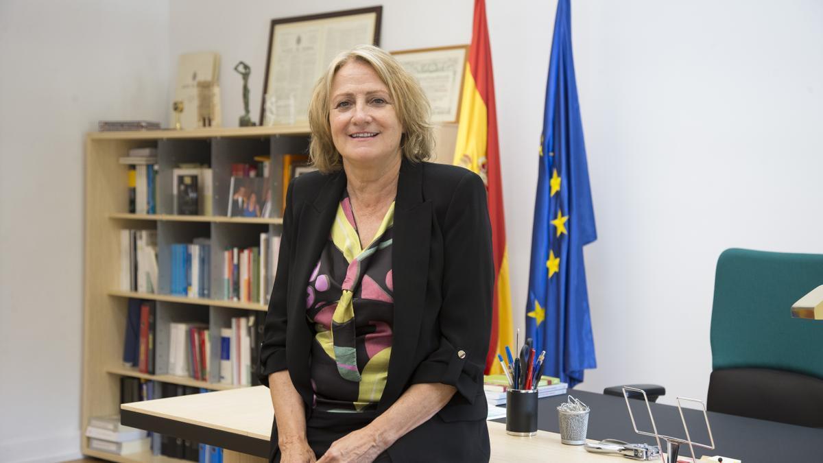 Carmen Collado Rosique, nueva directora general de la Inspección de Trabajo y Seguridad Social.