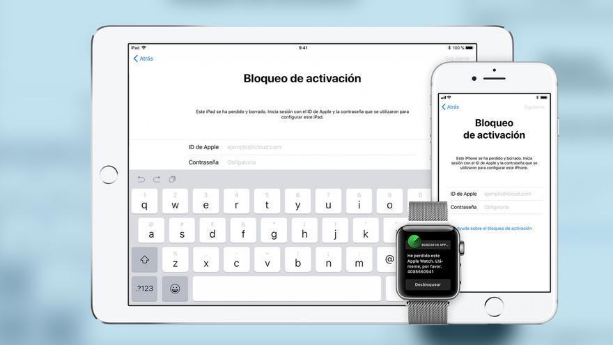 Modo de bloqueo activo en el sistema iOS