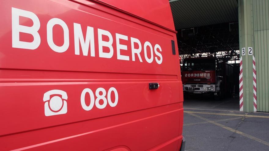 Extinguido un incendio en un asentamiento chabolista en Lucena del Puerto sin causar heridos