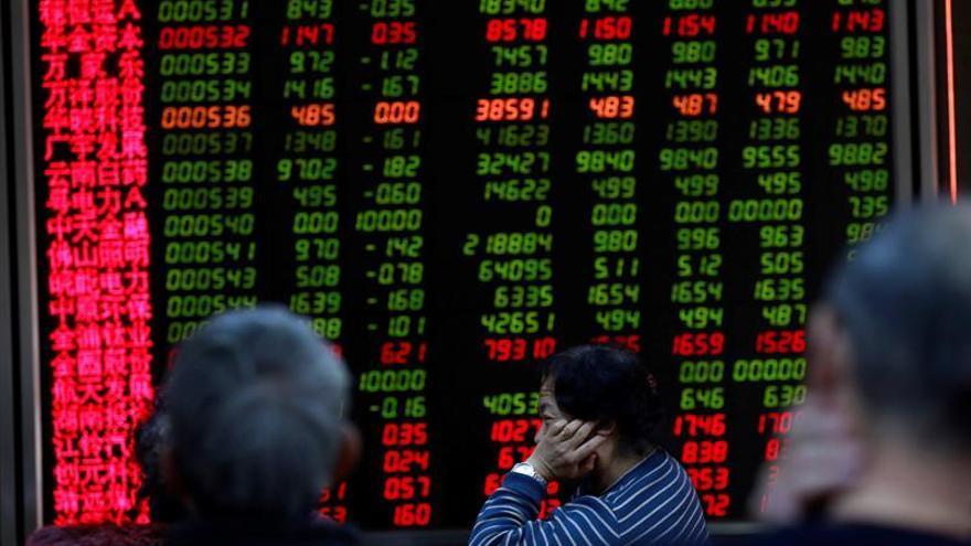 La Bolsa de Shanghái abre con descensos del 0,17 por ciento