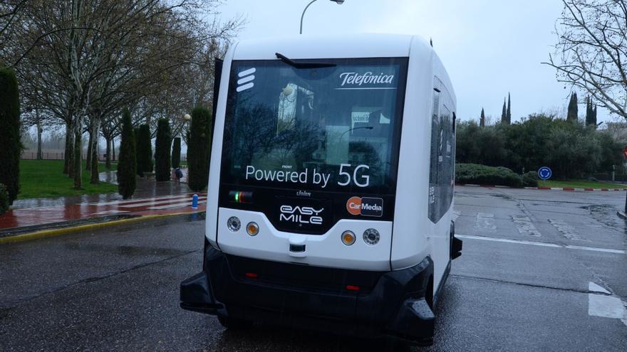 Caso 5G con conducción autónoma y consumo de contenidos