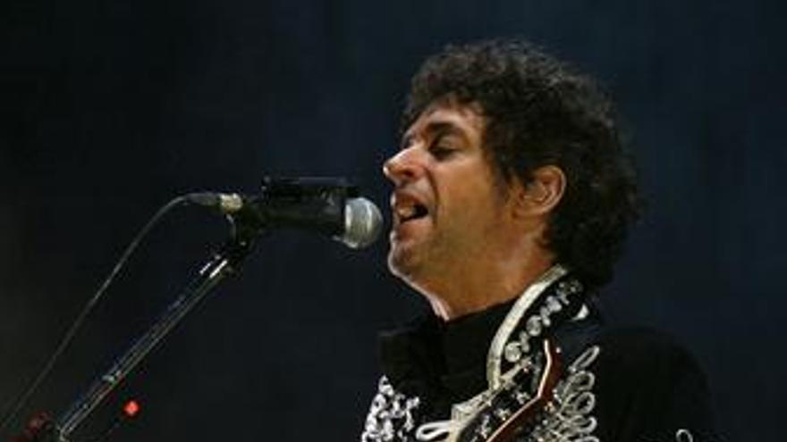 El cantante argentino Gustavo Cerati