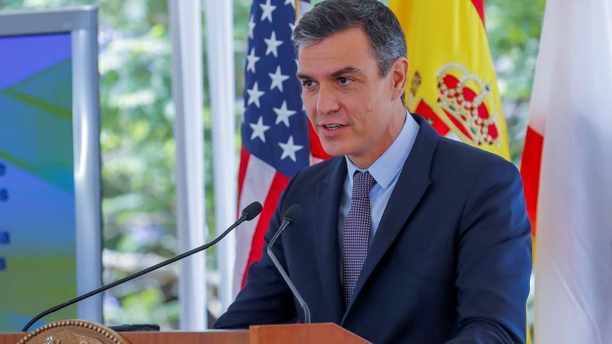 """Sánchez afirma en EE.UU. que el español es """"la lengua más viva del mundo"""""""
