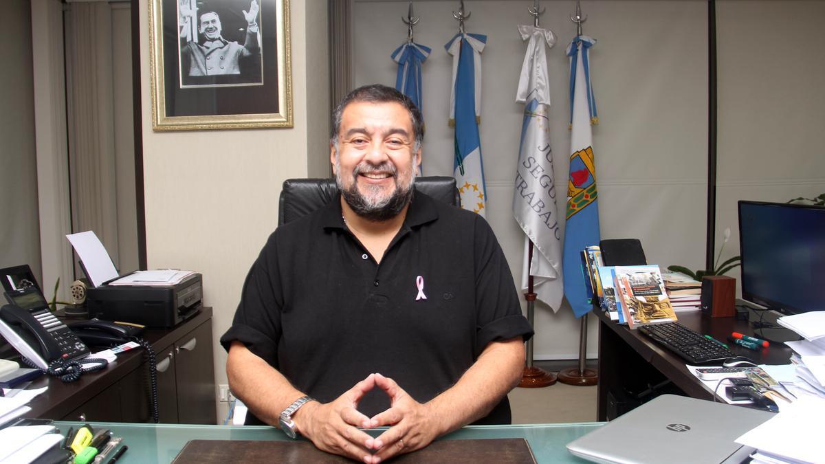 El ministro de Gobierno de Formosa, Jorge González.