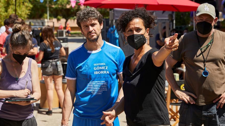 Laura Mañá rueda en Barcelona una comedia «con mujeres fuertes y sin tópicos»