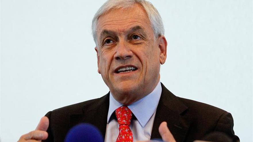 """El expresidente Sebastián Piñera asegura que """"Chile va por mal camino"""""""