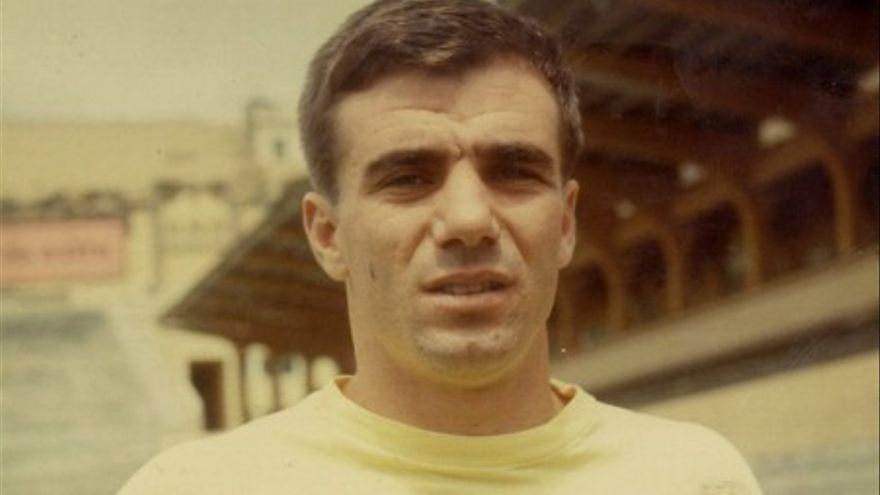 El jugador de la UD Las Palmas, Antonio Afonso Moreno 'Tonono'.
