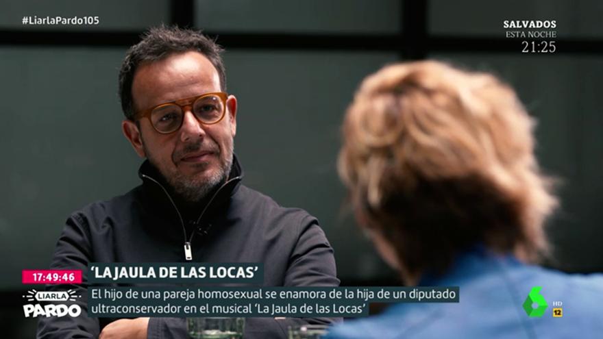 Àngel Llàcer, durante su entrevista en 'Liarla Pardo'