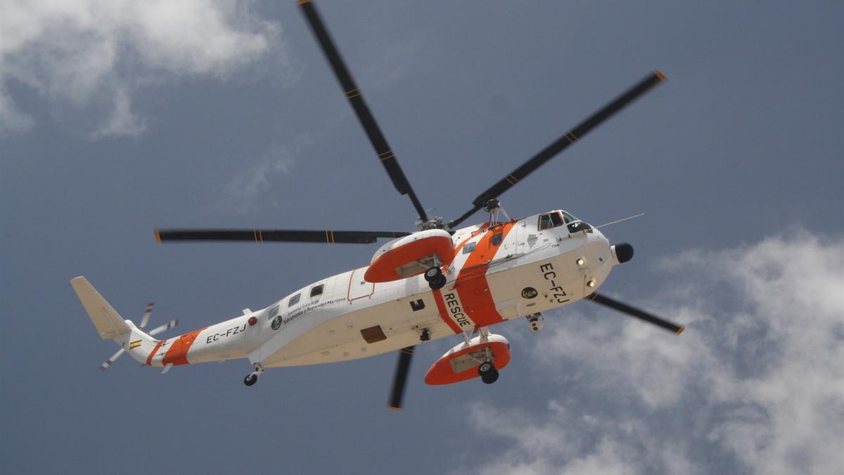 Helicóptero 'Helimer' de Salvamento Marítimo