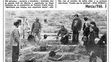 En Murcia se exhumó una de las primeras fosas del franquismo durante la Transición