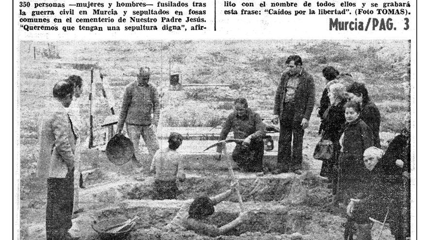 La Verdad 14.03.1979 / Archivo municipal Murcia