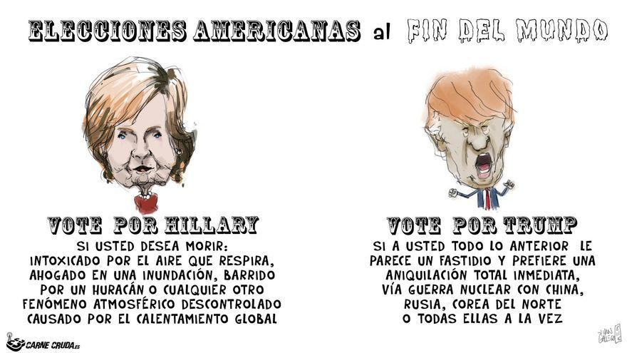 Elecciones al fin del mundo