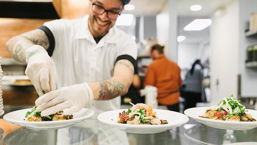 En Dropbox no se repiten los menús y se cuidan los platos que se ofrece a los trabajadores (Imagen: Dropbox)