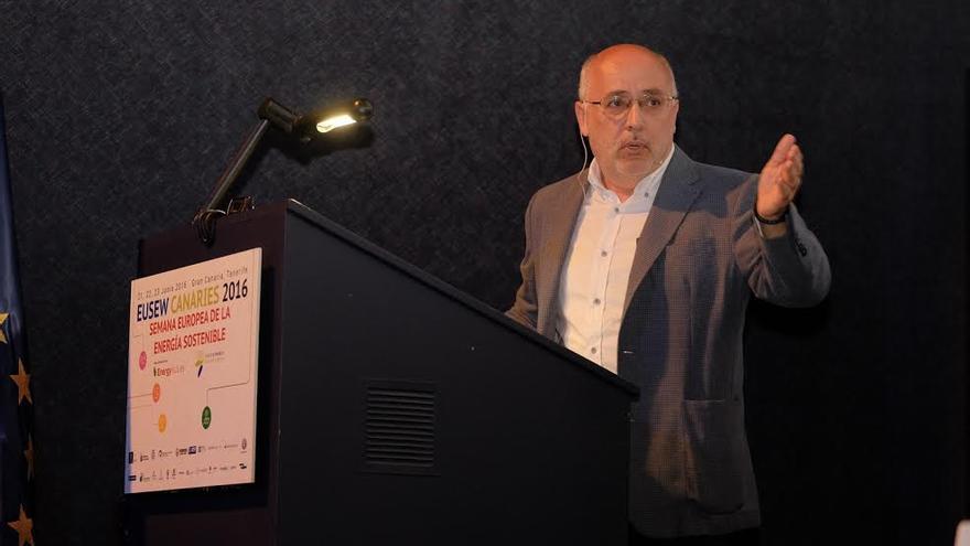 Antonio Morales, en la Semana Europea de la Energía.