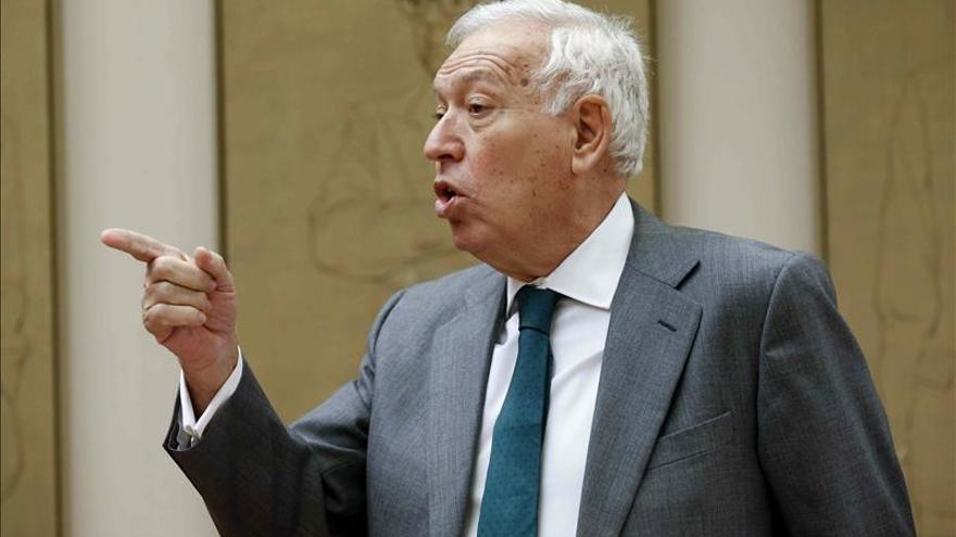 Margallo niega que la postura de España ante Grecia se deba a Podemos