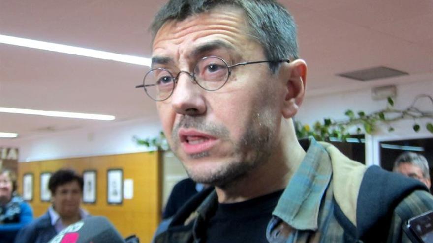 Juan Carlos Monedero, en un acto celebrado en Toledo / Foto: EUROPA PRESS