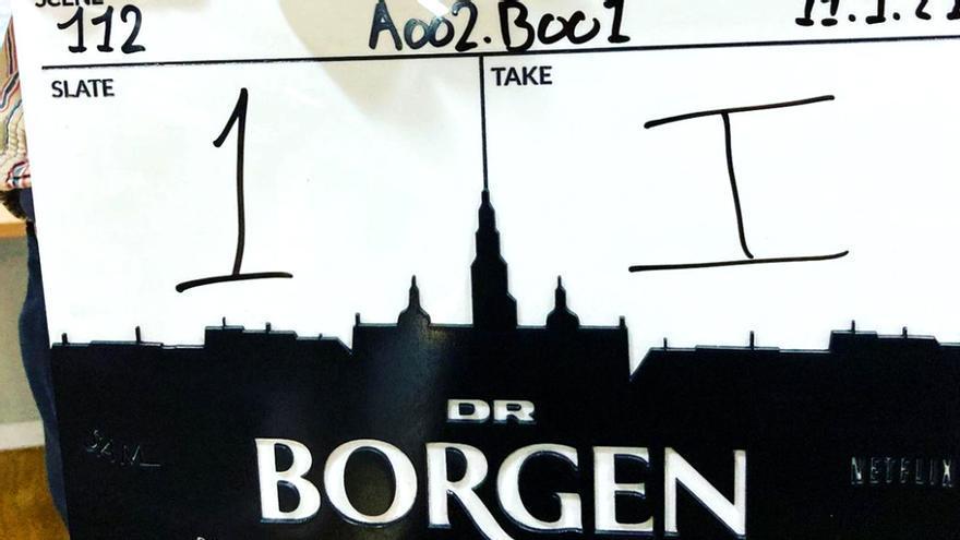 Imagen del rodaje de la cuarta temporada de 'Borgen'
