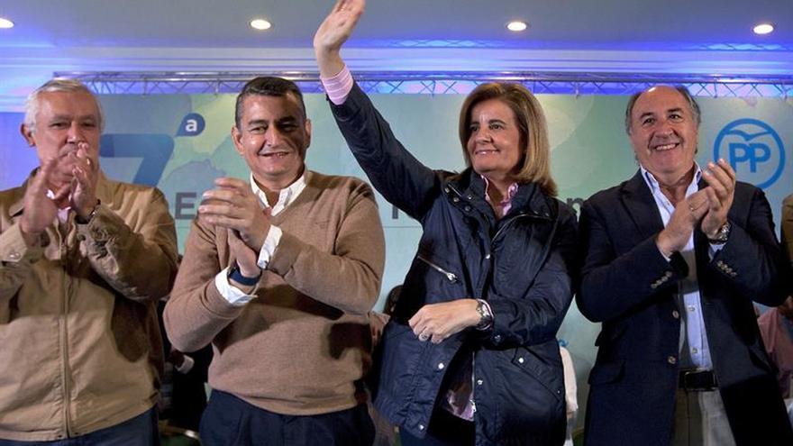 Báñez destaca empleo y sistema de bienestar, prioridades de Gobierno de Rajoy