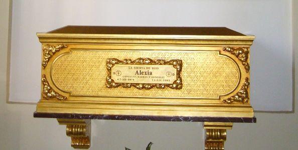Féretro de Alexia | Foto: A.P