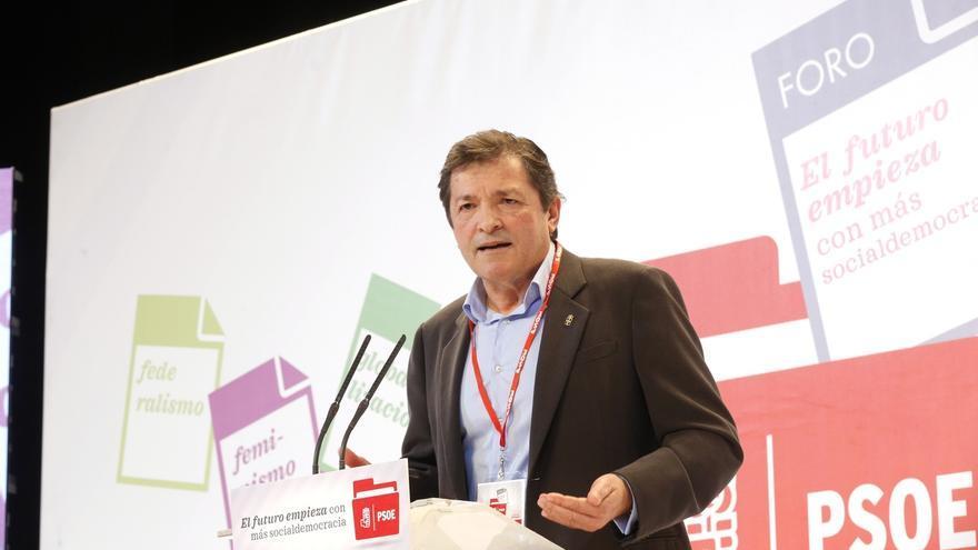 Javier Fernández: El PSOE no puede ser una asamblea permanente ni crecer como un partido débil con un líder fuerte