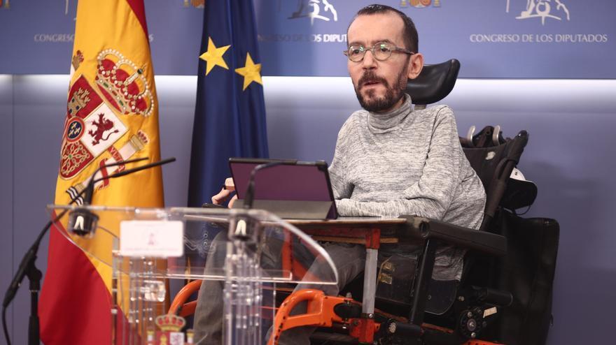 Telegrama urgente para Pablo Echenique