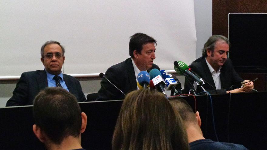 Los liquidadores de RTVV: Agustín Arenas, Francisco Gómez Barroso e Ignacio Baixauli