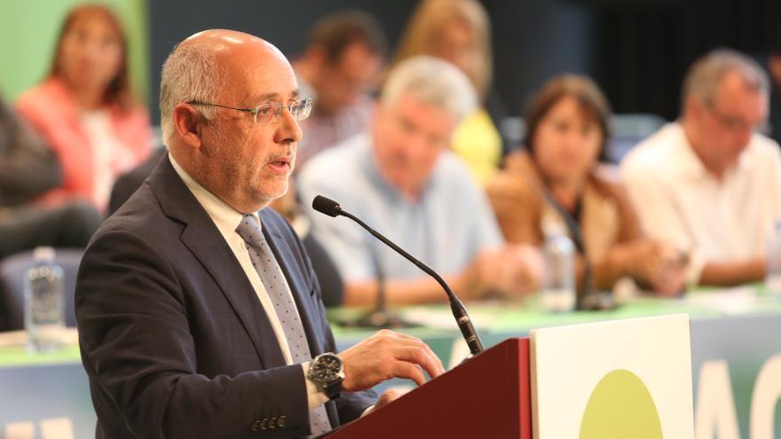 El presidente del Cabildo de Gran Canaria,Antonio Morales (ALEJANDRO RAMOS)