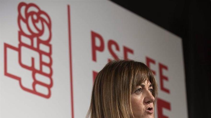 """Idoia Mendia ensalza el acuerdo con el PNV frente al """"diálogo de sordos"""" en Cataluña"""