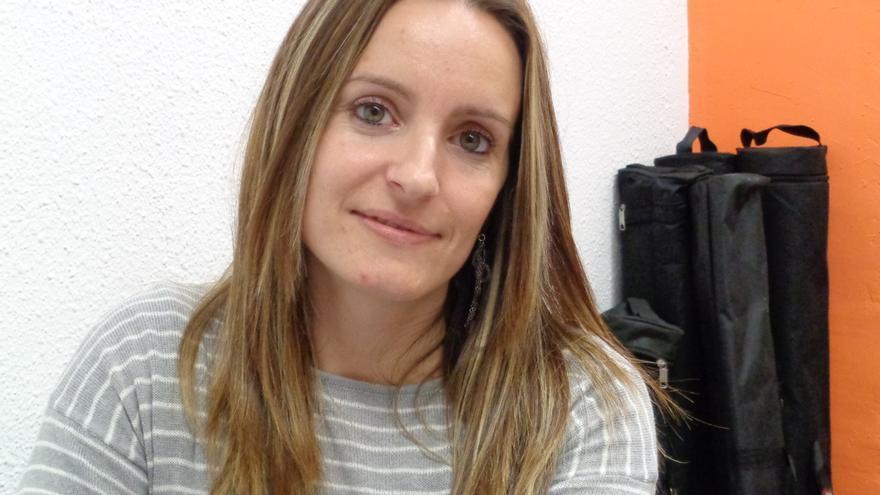 Àngela Ballester, candidata de Compromís-Podemos.