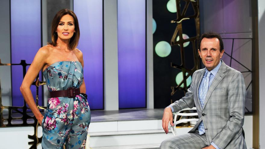 Nieves Álvarez y Jesus María Montes-Fernandez en 'Flash Moda'