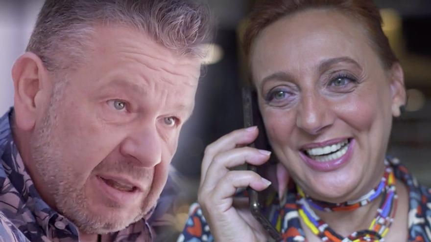 La pareja de Alberto Chicote explicó en laSexta cómo les ha cambiado la vida la televisión
