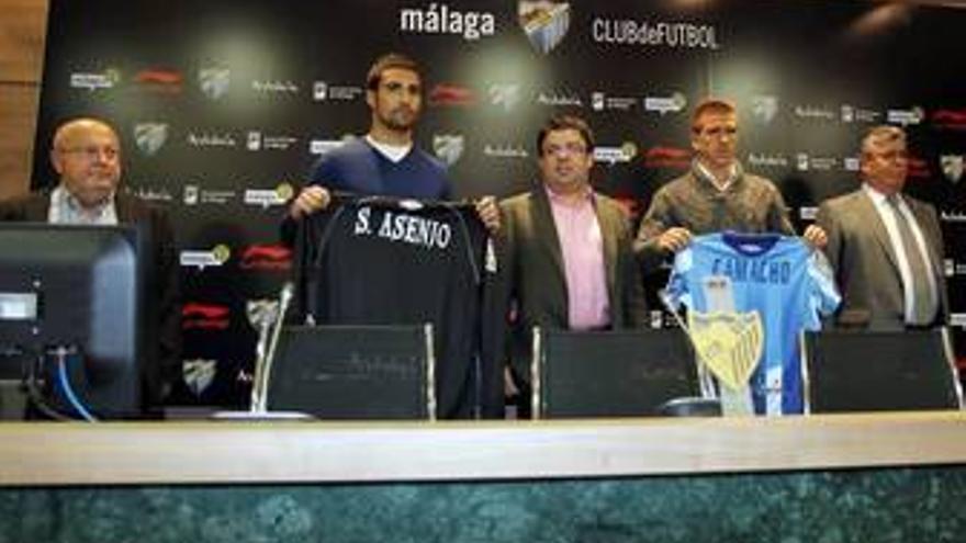 Asenjo y Camacho cedidos al Málaga