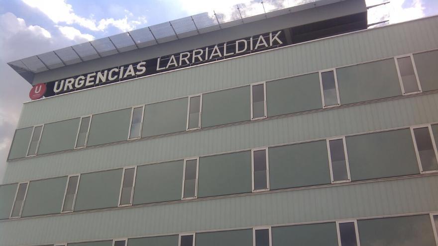 El nuevo edificio de Urgencias del Complejo Hospitalario de Navarra.