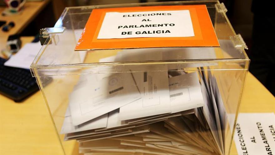 Más de 2,2 millones de gallegos están llamados hoy a las urnas