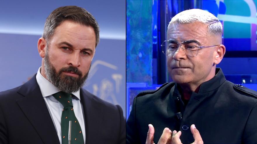 Santiago Abascal y Jorge Javier Vázquez